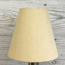 Clip on Candle Shade Cream